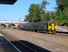 150232 Exeter Central (3) (Marky7890) Tags: gwr 150232 class150 sprinter 5b82 exetercentral railway devon train