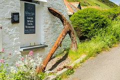 An Old Anchor of one of the many ships sank along the Cornish Coast (Geordie_Snapper) Tags: boscastle canon5d4 canon2470mm cornwall holidayboscastle june oldanchor summer