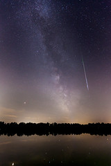 Olching, 12.08.2018 (Jens_Bolduan) Tags: nacht olching see sternschnuppe milchstrase