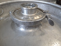 the JTW embossed 4 inchTry Clover sankey keg designed by Jay lesher aka jay the welder November 4 2016 (Jay the welder) Tags: jtw keg embossed jay lesher welder brew home brewing half barrel fermenter brite tank try clover sankey