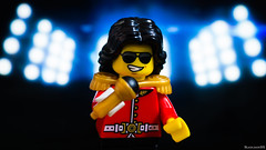 Michael Jackson (black.zack00) Tags: music song michael jackson pop lego minifig minifigure afol photography funny humour toy toys