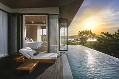 Cape Fahn (Atit Pth) Tags: capefahn poolvilla pool room luxuryhotel luxury fahnnoi fahnnoiisland samui samuithailand sunset