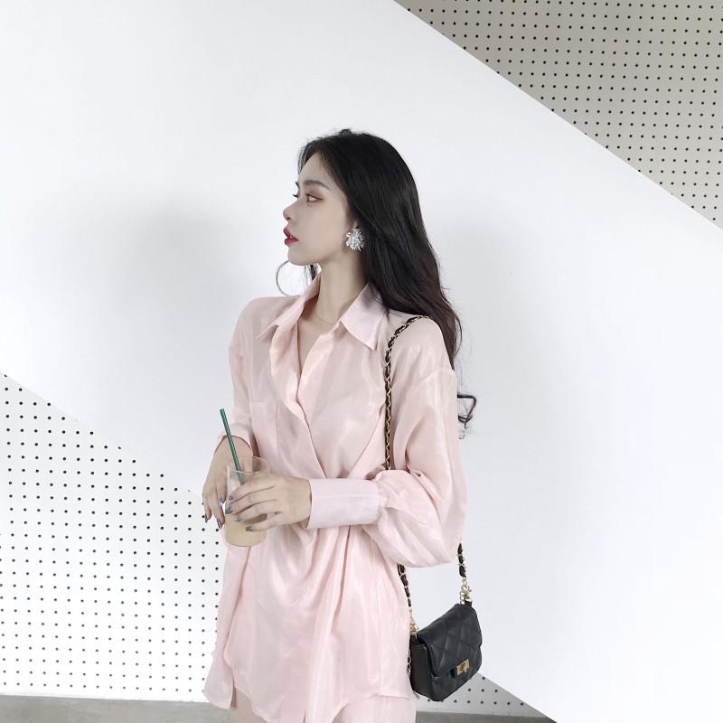 Early autumn dress 2018 new design, first love, antique, cold wind, feminine dress, Zi Xia.