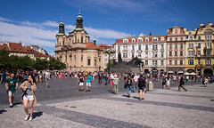 Old Town Square, Prague (romanboed) Tags: leica m 240 summicron 28 czech europe cesko czechia prague praha prag praag praga old town square namesti stare mesto summer travel tourism 布拉格 прага プラハ براغ 프라하