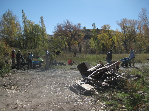 Photo - Community Cleanup/Trail Project