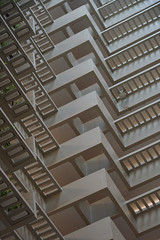 2018-08-FL-194502 (acme london) Tags: atlanta atrium balcony balustrade concrete corridor downtown foyer georgia hotel hyatt hyattregency johnportman planting railing