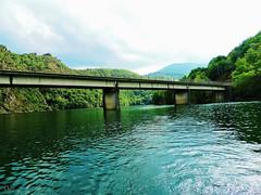 promenade sur le lac de Villefort - Lozère (danie _m_) Tags: naturepic lake bridge mountains forest water landscape lovenature beautiful nature lac pont eau forêt montagne paysage