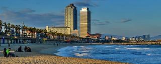 Barcelona Playa de la Barceloneta