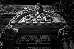 Split, Croatia (pas le matin) Tags: stonework sculpture architecture travel voyage world croatia croatie hrvatska europe europa city ville night nuit light split stone pierre basrelief canon 7d canon7d canoneos7d eos7d bw nb blackandwhite noiretblanc monochrome