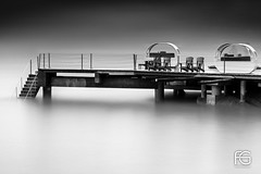 Black Pontoon (Fabien Georget (fg photographe)) Tags: blackparrotresort pontoon ponton water bw blackandwhite noiretblanc monochrome longexposure praslin lesseychelles ciel bateau people landscape paysage sky blue ayezloeil beautifulearth bigfave canoneos5d canon elitephotography elmundopormontera eos fabiengeorget fabien fgphotographe flickr flickrdepot flickrunited georget geotagged flickunited longue mordudephoto nature paysages perfectphotograph perfectpictures wondersofnature wonders supershot supershotaward theworldthroughmyeyes shot poselongue photography photo greatphotographer granit seascape sunset slowshutter