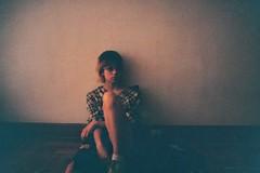 Soon (jankaraika) Tags: 35mm teen teenager teens analog analogue woman nikon fg20 film nikonfg20 indoor cinnamonroll portrait portraiture people