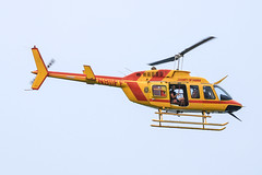 N911FF County of HAWAII (Mussi Katz) Tags: hawaii helicopter bell yellow hawaii50 sky fly