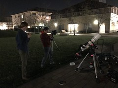 Astrophoto on the quad