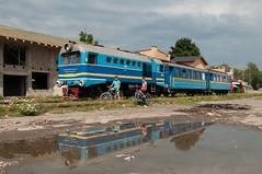 23-7-2018 - Vinogradiv (berlinger) Tags: vynohradivvinogradivвино zakarpatskaoblast ukraine eisenbahn railways railr railroad narrowgauge schmalspur ty2 tu2 borschawatalbahn