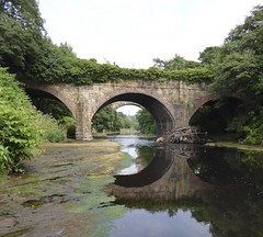 arches (seanofselby) Tags: clifton aqueduct river irwell bolton bury canal