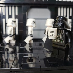 Would rather be hanging with the kids. Instead I'm at work with a bunch of knuckle heads. #lego #afol #moc #stormtrooper #deathstar #darthvader #starwars #legostarwars #minifig #dad #number1dad #eclipsegrafx (Anthony Radzimoski) Tags: moc number1dad lego starwars deathstar darthvader dad stormtrooper legostarwars minifig eclipsegrafx afol