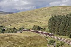 Across the border (EltonRoad) Tags: 66743 66746 class66 royalscotsman gbrf denthead sc settle carlisle cumbria belmond train railway line dent dentdale