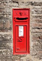 GL15 116 (R~P~M) Tags: postbox letterbox mailbox england uk unitedkingdom greatbritain victoria victorian wallbox etloe glos gloucestershire