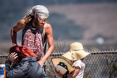 hats (explore) (Elizabeth Haslam) Tags: 2018 baitball elizabethhaslam sansimeon birds elizabethhaslamphotograhycom california ducks brownpelican street hats sadstateofevents hippy handsome