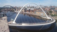 Gateshead Millennium Bridge River Tyne (woodytyke) Tags: woodytyke stephen woodcock photo photograph camera foto photography best picture composition digital phone colour flickr image photographer light publish print buy free licence book magazine website blog instagram facebook commercial
