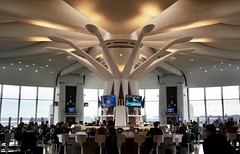 DCA terminal A satellite rotunda (airbus777) Tags: ronaldreaganwashingtonnational airport dca satellite rotunda modern brutalist giulianiassociates architecture