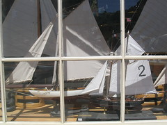 Sailboats (skipmoore) Tags: fishermanswharfmodel sailboats shop window