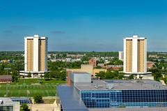 Lincoln & Morrill Towers (Eridony (Instagram: eridony_prime)) Tags: columbus franklincounty ohio osu ohiostateuniversity university campus publicuniversity