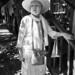 lady in white, old Santa Fe