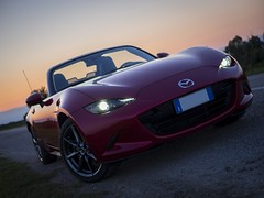 _8160098-1_st (eugeniomaniero) Tags: mazda miata mx5 roadster olympus omd car sunset micro four thirds lumix