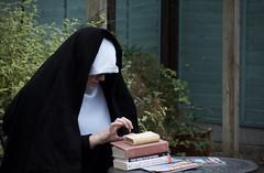 Sister Boleslawa Lament had disparate interests (Mount Fuji Man) Tags: hereios wah wh 6ws sixwordstory nun books magazine