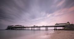 Cromer Pier (northernladgonesouth) Tags: cromer pier sea beach longexposure fujixt10 fuji1024 fujixseries sand sky norfolk sunset cloud bluehour