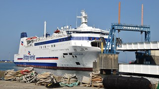 Brittany Ferries. Barfleur. IMO: 9007130.