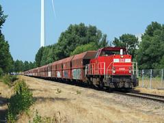 DBC 6465 (jvr440) Tags: trein train spoorwegen railroad railways amsterdam houtrakpolder dbc db cargo 6400