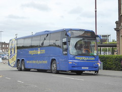 Stagecoach Yorkshire 54060 KX59 DLO on Rail Replacement, Roundhouse Rd, Derby (sambuses) Tags: stagecoachyorkshire megabus 54060 kx59dlo railreplacement