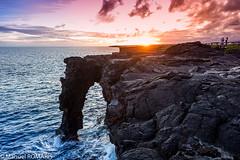 Holei Sea Arch, Volcanoes National Park, Hawaii, US (Manuel ROMARIS) Tags: holeiseaarch usa hawaii sunset hawaiivolcanoesnationalpark pāhoa unitedstates us