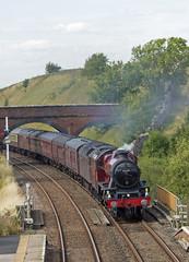 45699 Kirkby Stephen 11-08-18 (prof@worthvalley) Tags: all types transport steam locomotive railway railroad uk 45699 galatea settle carlisle