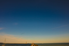 Beautiful Sky at Dunkerque (Oliver R. Photography) Tags: sky dunkerque sunset sunrise landscape mer sea ocean manche channel photographe photography cloud orange sun soleil atmosphere