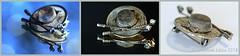 HMM || SILVER MESH BROOCH (Anne-Miek Bibbe) Tags: macromondays mesh brooch broche pin jewelry sieraad macro metal whitemetal happymacromonday canoneos700d canoneosrebelt5idslr annemiekbibbe bibbe nederland 2018