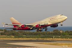 Boeing 747-446 EI-XLE Rossiya (msd_aviation) Tags: boeing boeing747 b747 b747400 queenoftheskies jumbo rossiya aviation aviationpics aviationphotography aviationlovers spotting planespotting takeoff lebl bcn barcelona elprat