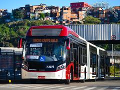 7 2075 Viação Campo Belo (busManíaCo) Tags: viaçãocampobelo 72075 caio millennium brt biarticulado volvo b360s 19ºbbtbusbrasiltourportaldoônibus juvercimelo valprado