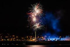 Maiden of the Mournes Festival (Glenn Cartmill) Tags: fireworks maidenofthemournes featival northernireland warrenpoint omeath ireland uk unitedkingdom sony sonya7iii night nighttime august 2018