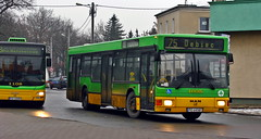 MAN NL202 #1035 (xjr1) Tags: poznań poland mpkpoznań man bus górczyn nl202 1035