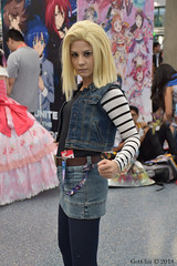 Android 18 (GetChu) Tags: anime expo 2018 ax los angeles convention center cosplay comic manga cartoon coser video game character costume tv show dragon ball z android 18