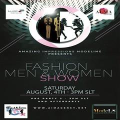 AIM Fashion M & W August (Curiosse) Tags: aim modeling agency fashion show event men women designs models designers 2018 august