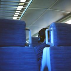 Fort Worth Express / Feeling blue (Antonin Cosset) Tags: bronica sqa zenza zenzanon zenzanons 80mm 120 mediumformat film kodak portra 160 160vc 28