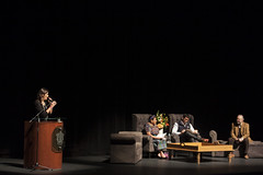 """20161130  Cruzada por la Paz_2 (DIF Guadalajara) Tags: conferencia""""unacruzadaporlapaz"""" actoryactivistasocial rigobertamenchú líderindígena guatemalteca premionobeldelapaz1992 eduardoverástegui actor activistasocia l lorenamartínezramírez presidentadelvoluntariado difguadalajara"""