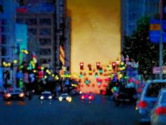 city of night (migueldeozarko) Tags: city night painterly