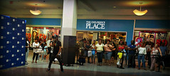 Voices of Brooklyn competition at the Mall (Robert S. Photography) Tags: mall kingsplaza contest voices brooklyn rapper auditions summer nyc sony dscwx50 iso250 august 2018