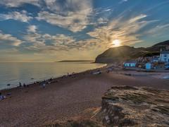 The Anchor Inn, Seatown (Alan Reeve) Tags: dorset family holiday sunset anchor inn seatown hdr aurora seascape coast sea beach rocks pub
