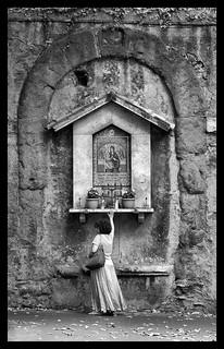 Madonnelle di Roma, Madonna del Divino Amore, Via Merulana, 183, Rione Monti